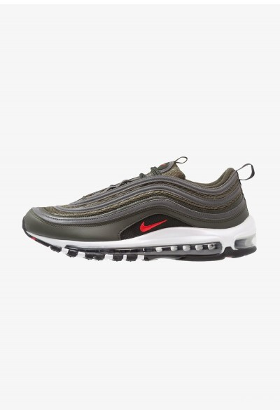 Nike AIR MAX 97 - Baskets basses sequoia/university red/metallic dark grey