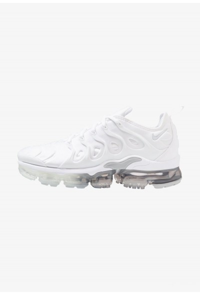 Nike AIR VAPORMAX PLUS - Baskets basses white/pure platinum/wolf grey
