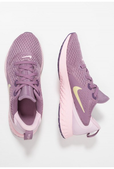 Nike LEGEND REACT - Chaussures de running neutres violet dust/metallic gold star/light arctic pink