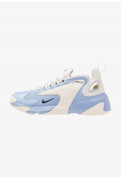 Nike ZOOM 2K - Baskets basses aluminum/black/metallic silver/sail