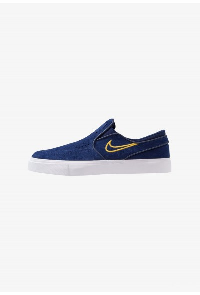 Nike ZOOM STEFAN JANOSKI - Mocassins blue void/yellow ochre