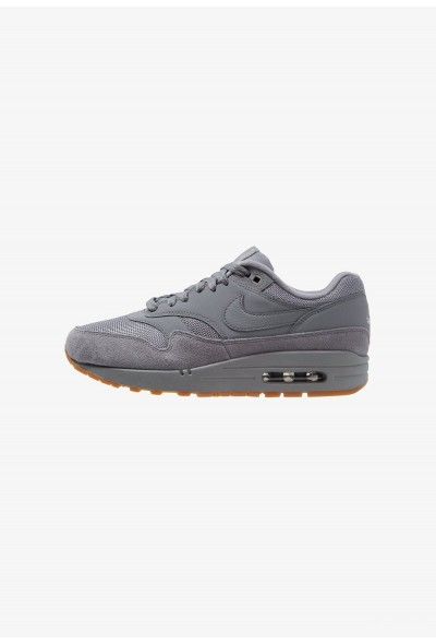 Nike AIR MAX 1 - Baskets basses cool grey/med brown