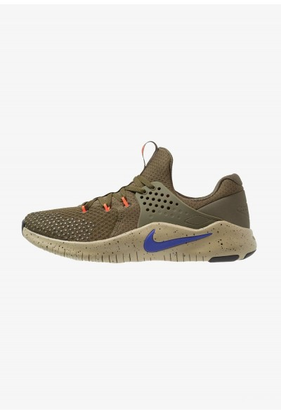 Nike FREE TRAINER V8 - Chaussures d'entraînement et de fitness olive/indigo burst/neutral olive/black/total crimson