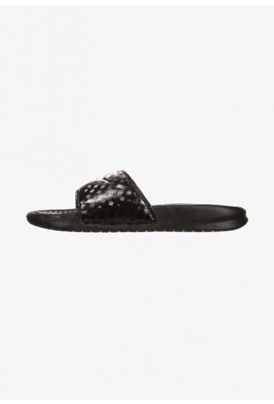 Nike BENASSI JDI - Mules black/white