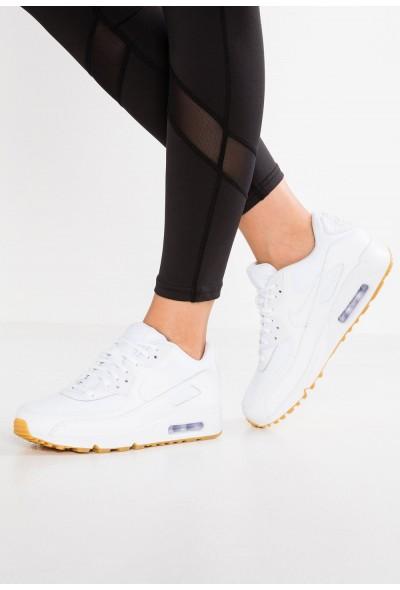 Nike AIR MAX - Baskets basses white/light brown