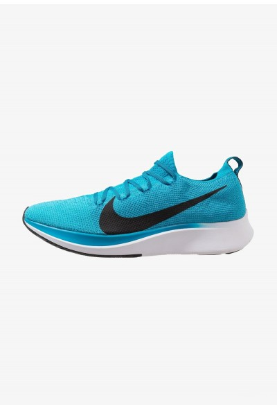 Nike ZOOM FLY FK - Chaussures de running neutres blue orbit/black/white/photo blue