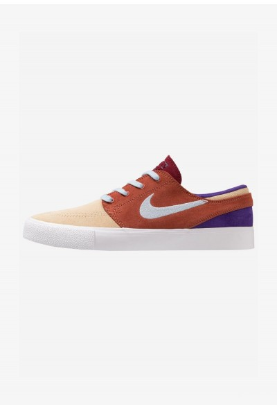 Nike ZOOM JANOSKI - Baskets basses desert ore/light armory blue/dusty peach/team red/court purple/light brown