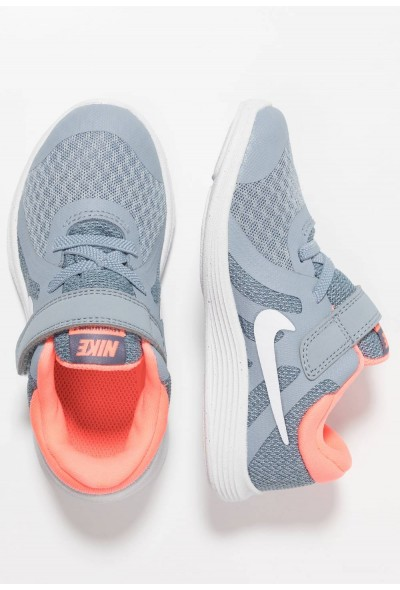 Nike REVOLUTION 4 - Chaussures de running neutres obsidian mist/white/lava glow/armory blue