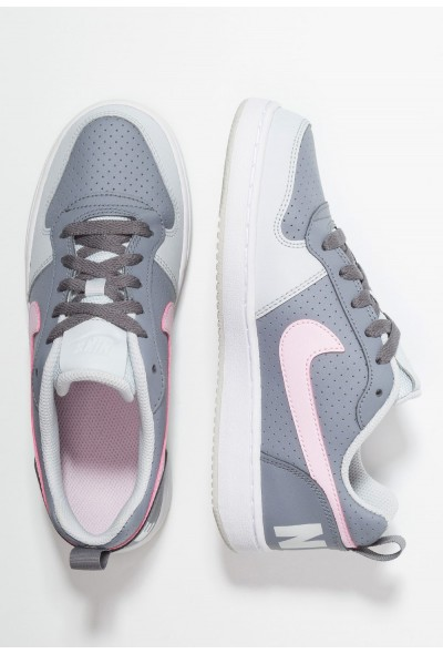 Nike COURT BOROUGH - Baskets basses cool grey/pink foam/pure platinum