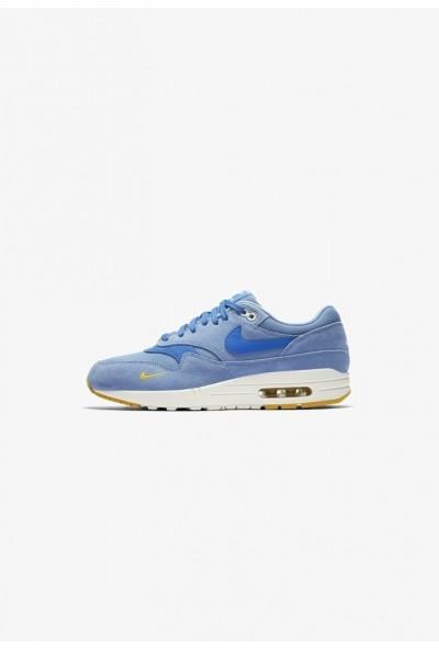 Nike AIR MAX 1 PREMIUM HERRENSCHUH - Baskets basses work blue/yellow ochre/sail/mountain blue