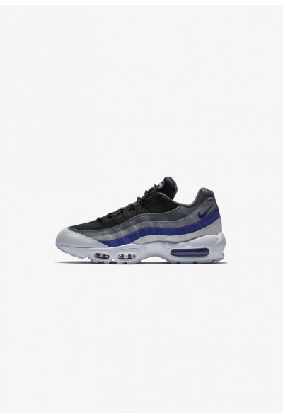 Nike AIR MAX 95 ESSENTIAL - Baskets basses white/wolf grey/persian violet