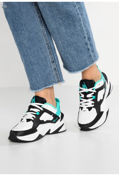 Nike M2K TEKNO - Baskets basses summit white/black/hyper jade/spruce aura