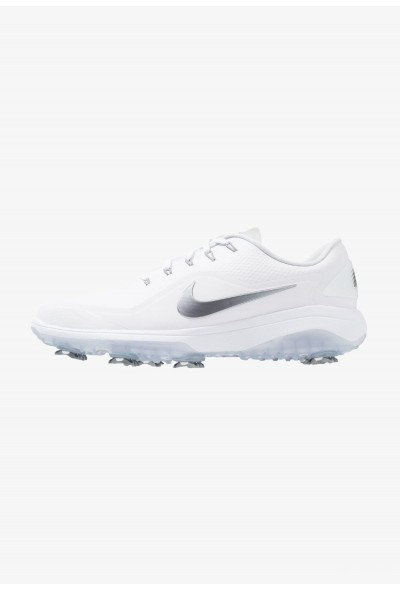 Nike REACT VAPOR  - Chaussures de golf white/metallic cool grey/black