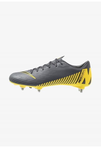 Nike MERCURIAL VAPOR 12 ACADEMY SG PRO - Chaussures de foot à lamelles dark grey/black/opti yellow