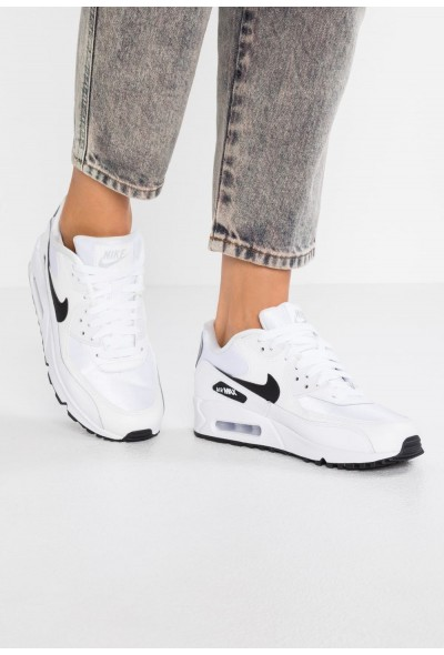 Nike AIR MAX - Baskets basses white/black/reflect silver
