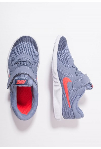 Nike REVOLUTION 4 - Chaussures de running neutres ashen slate/flash crimson/diffused blue