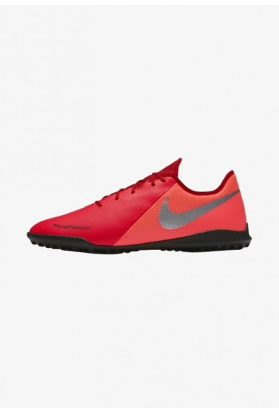 Nike PHANTOM  VSN ACADEMY TF - Chaussures de foot multicrampons bright crimson/black/metallic silver