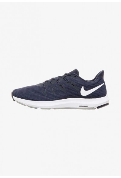 Nike QUEST - Chaussures de running neutres obsidian/white/midnight navy/wolf grey