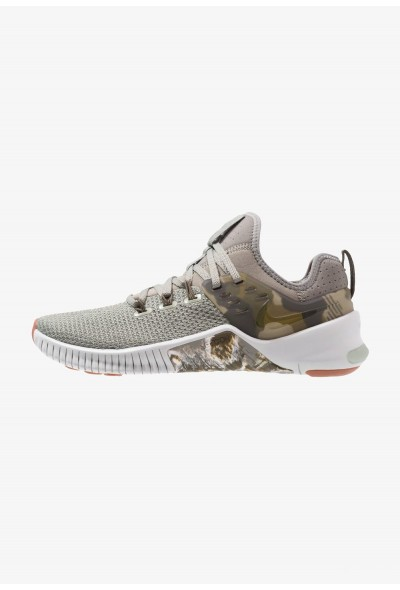 Nike FREE METCON - Chaussures d'entraînement et de fitness dark stucco/olive/light silver/medium brown