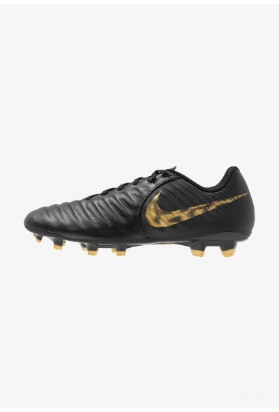 Nike LEGEND 7 ACADEMY FG - Chaussures de foot à crampons black/metallic vivid gold