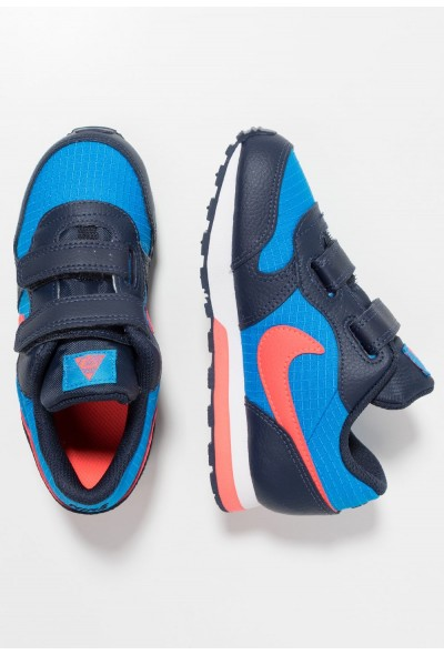 Nike MD RUNNER 2  - Chaussures premiers pas photo blue/bright crimson/obsidian/white