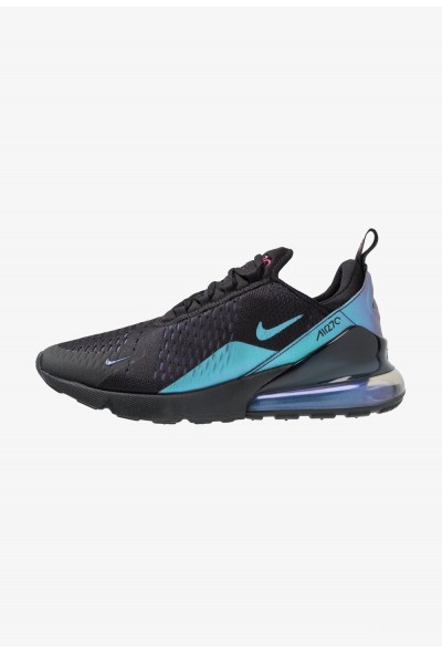 Nike AIR MAX 270 - Baskets basses black/laser fuchsia/regency purple/anthracite