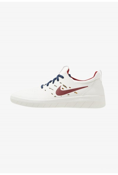 Nike NYJAH FREE - Baskets basses summit white/team crimson