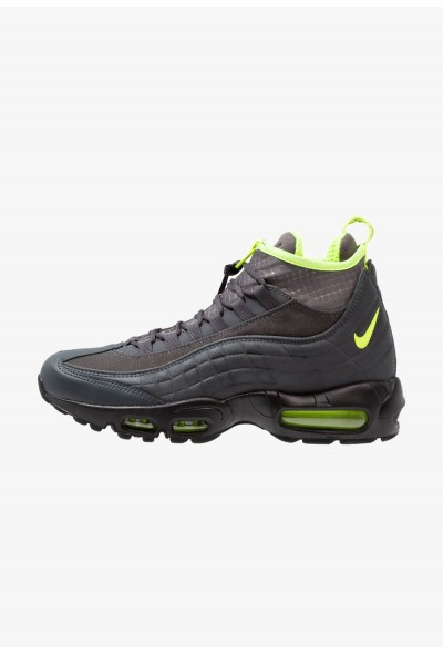 Nike AIR MAX 95 - Baskets montantes anthracite/volt/dark grey/black