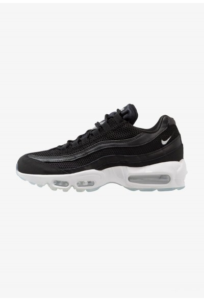 Nike AIR MAX 95 ESSENTIAL - Baskets basses black/white/reflect silver