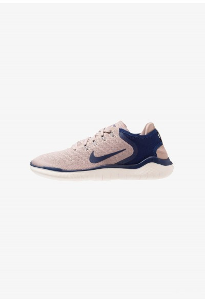 Nike FREE RN 2018 - Chaussures de course neutres diffused taupe/blue void/guava ice