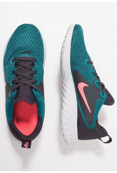 Nike LEGEND REACT - Chaussures de running neutres geode teal/hot punch/oil grey