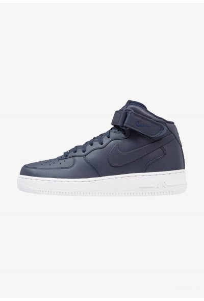 Nike AIR FORCE 1 MID '07 - Baskets montantes obsidian/white