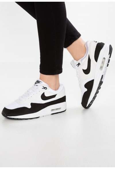 Nike AIR MAX 1 - Baskets basses white/black