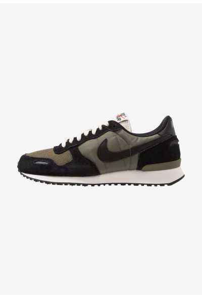 Nike AIR VORTEX - Baskets basses black/medium olive/sail/team orange