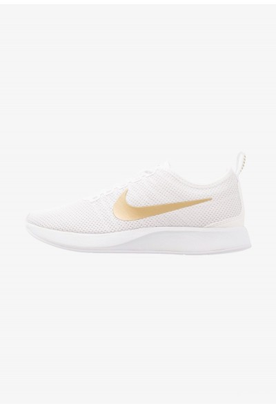 Nike DUALTONE RACER SE - Baskets basses white/metallic gold/vast grey