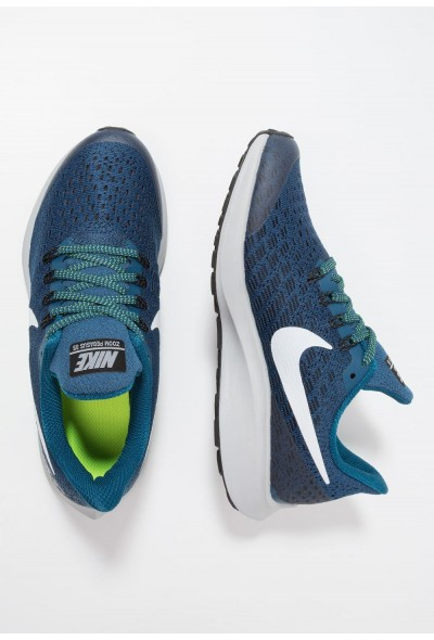 Nike AIR ZOOM PEGASUS 35 - Chaussures de running neutres blue force/white/black/wolf grey/volt