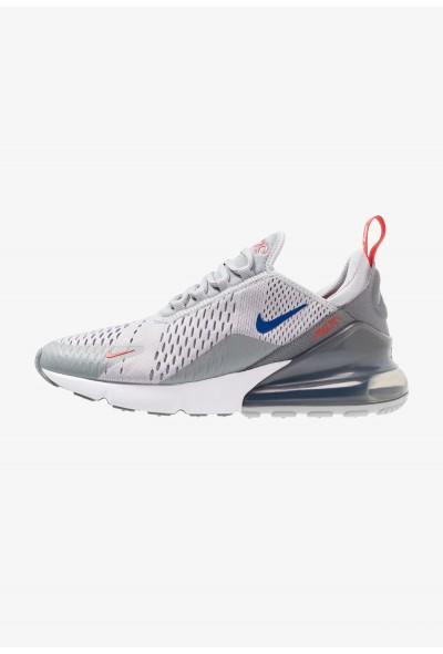 Nike AIR MAX 270 - Baskets basses wolf grey/game royal/cool grey/habanero red/white