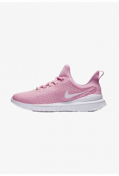 Nike RENEW RIVAL - Chaussures de running neutres rose/pink/white