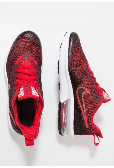 Nike AIR MAX SEQUENT 4 - Chaussures de running neutres black/university red