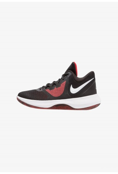 Nike AIR PRECISION II - Chaussures de basket black/white/university red