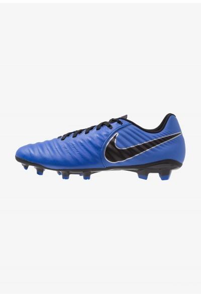 Nike LEGEND 7 ACADEMY FG - Chaussures de foot à crampons racer blue/black/metallic silver