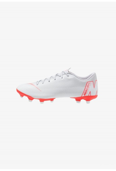 Nike MERCURIAL VAPOR 12 ACADEMY MG - Chaussures de foot à crampons wolf grey/bright crimson/pure platinum/metallic silver