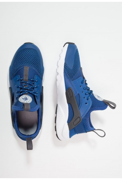 Nike HUARACHE RUN ULTRA (PS) - Baskets basses gym blue/white/dark grey/wolf grey
