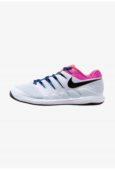 Nike AIR ZOOM VAPOR X HC - Baskets tout terrain half blue/black/white/laser fuchsia/bright crimson/indigo force