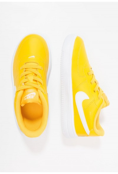 Nike FORCE 1 18 - Chaussures premiers pas amarillo/white