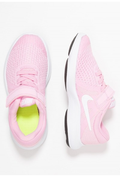 Nike REVOLUTION 4 - Chaussures de running neutres pink rise/white/pink foam/black