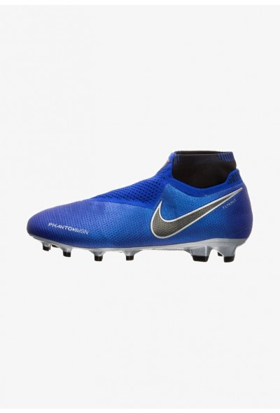 Nike PHANTOM VISION ELITE  - Chaussures de foot à crampons racer blue/black/metallic silver/volt