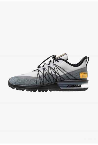 Black Friday 2019 - Nike AIR MAX SEQUENT 4 UTILITY - Chaussures de running neutres wolf grey/reflect silver/cool grey/black/amarillo