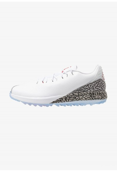 Nike JORDAN ADG - Chaussures de golf white/fire red/cement grey