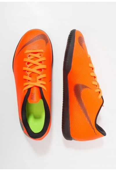 Nike MERCURIAL VAPORX 12 CLUB IC - Chaussures de foot en salle total orange/white/volt/black